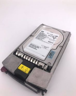 HP 146.8 GB ULTRA320 10K  3.5″ SCSI HARD DRIVE