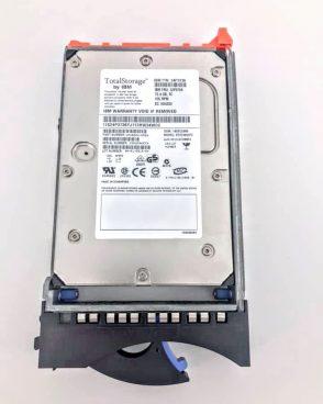 IBM 73.4GB 15K RPM 3.5″ 2GB FIBRE CHANNEL HARD DRIVE