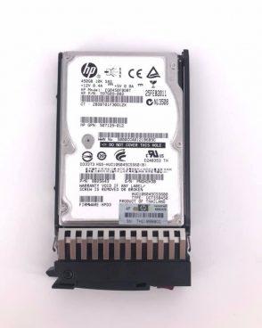 HP 450GB 2.5″ SFF SAS 10K RPM DP ENT HARD DRIVE