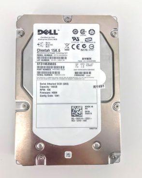 DELL 146GB 15K SAS 3GB/s 3.5″ HARD DRIVE